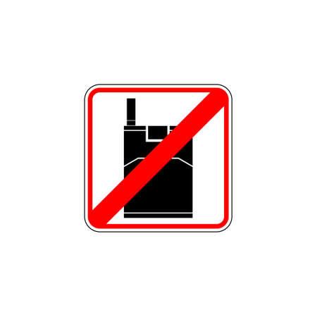 Red No smoking sign