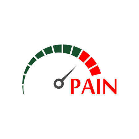 Pain icon, sign or logo