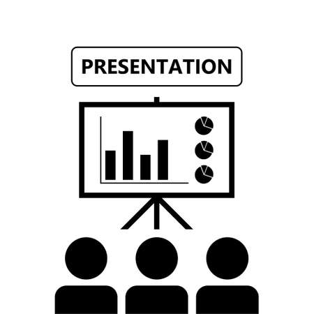 The training icon, Presentation icon