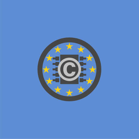 Copyright Europa sign or logo