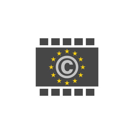 Copyright Europa sign or logo