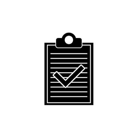 Checklist icon, clipboard icon or logo Stock Illustratie