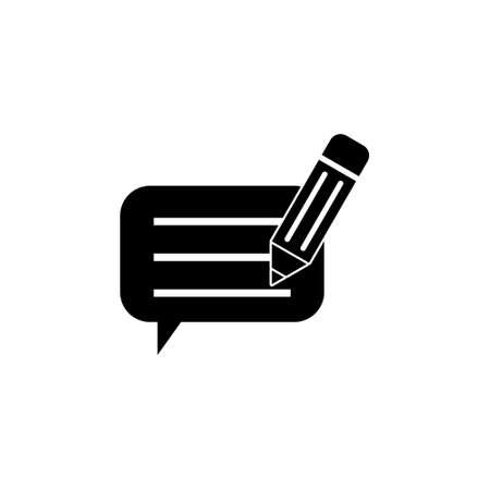 Write a Feedback Icon, Feedback design concept
