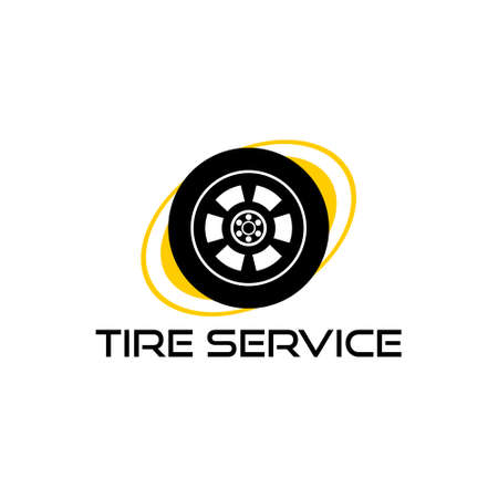 icon for tire service, Tire Service icon