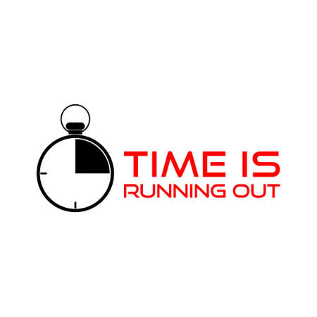 Time is Running Out Clock Deadline Words