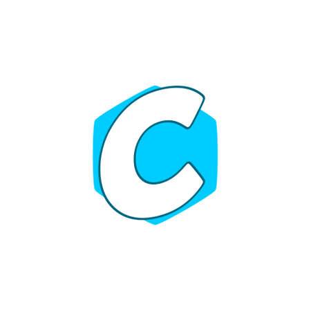 Letter C Modern Logo