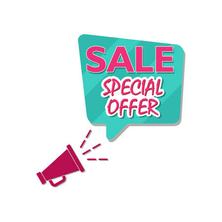 Special offer sale sign