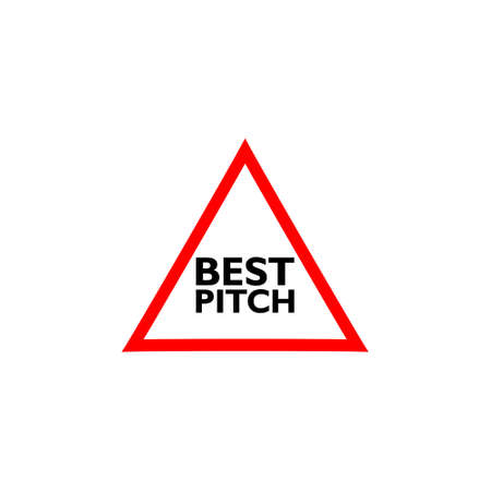 Best pitch sign icon