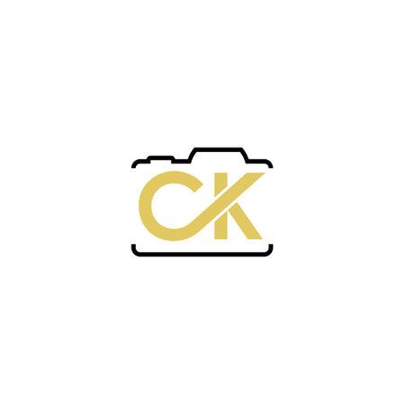 CK Initial Logo, Photograph logo