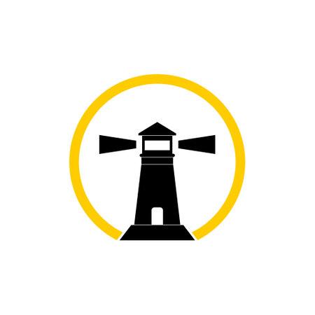 Lighthouse icon, logo