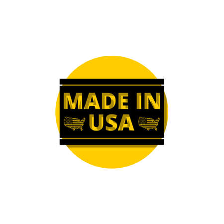 Made in USA icon, sign