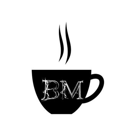 BM Initial Coffee or tea icon