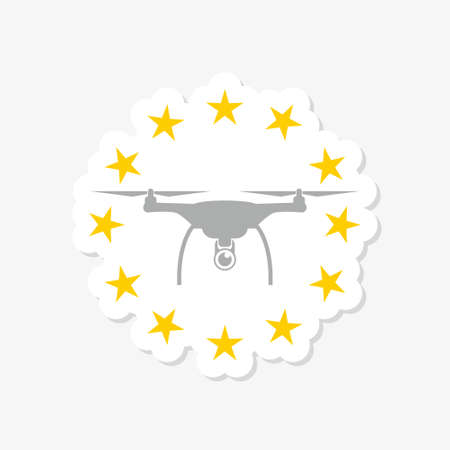 European rules for drone aerial aircraft law sticker