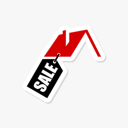House for Sale Sticker Icon