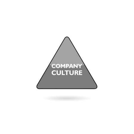 Company Culture sign concept