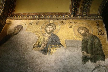 fresco: Istanbul, Church of Holy Wisdom, fresco