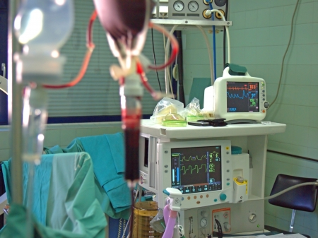Transfusion and infusion at surgery