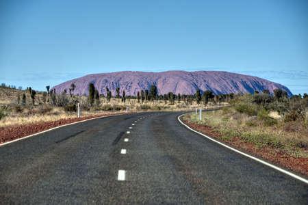 View of Uluru, Northern Territory, Australia, August 2009