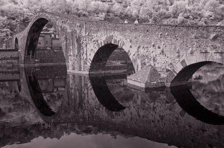 Devils Bridge, Garfagnana, Tuscany, Italy photo