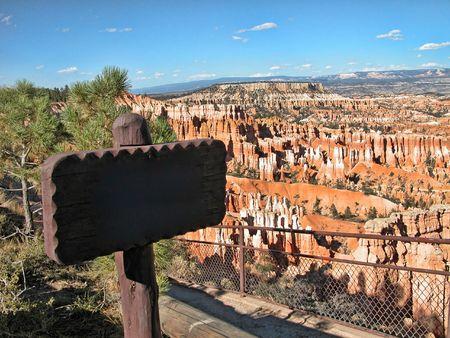 acute angle: Parque nacional Bryce Canyon en Utah, Estados Unidos  Foto de archivo