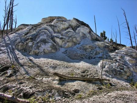 Detail of Yellowstone National Park, Wyoming photo