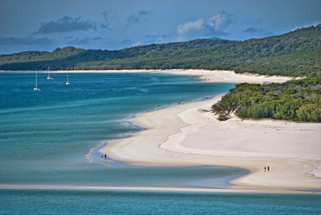 View of the Whitsunday Islands National Park, Queensland Stockfoto