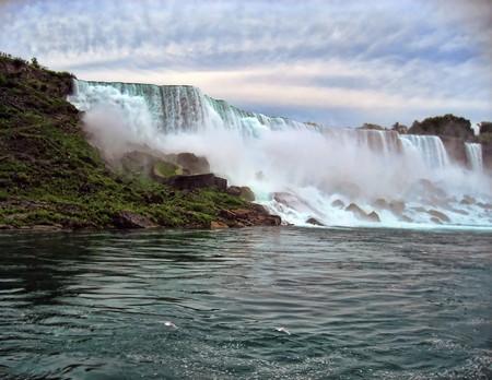 Pod vodopády v Niagara Falls