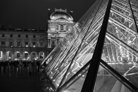 Detail of Paris in Winter, 2006 photo