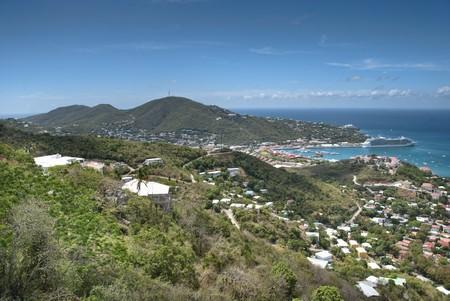 Saint Thomas Landscape and Colors, Caribbean photo