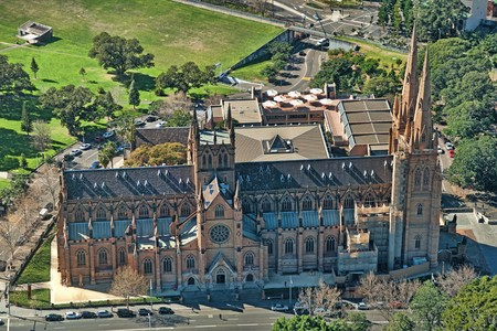 Cathedral of St Mary in Sydney, Australia photo