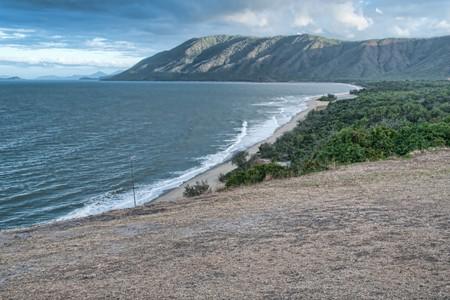 port douglas: Coast between Cairns and Port Douglas, Queensland, Australia Stock Photo