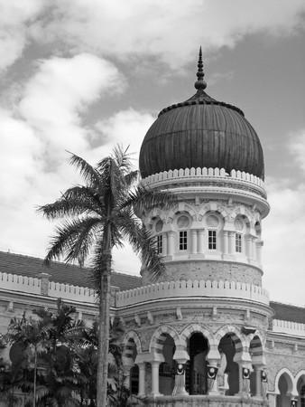 Merdeka Square in Kuala Lumpur, Malaysia photo