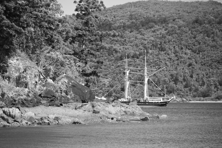 airlie: Ship on the Bay, Whitsundays Archipelago, Australia