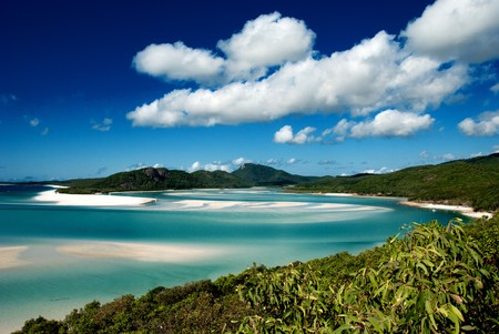 whitehaven: Colors of Whitehaven Beach in Queensland, Australia