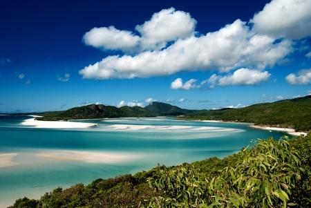 whitehaven beach: Colors of Whitehaven Beach in Queensland, Australia