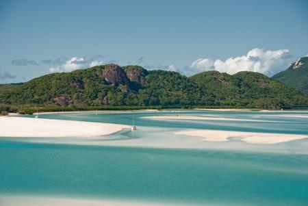 Whitehaven Beach in the Whitsundays Archipelago, Queensland, Australia Stock Photo - 7273610