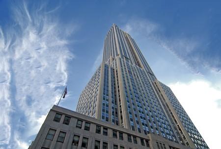 Edificios de la ciudad de Nueva York, Estados Unidos  Foto de archivo