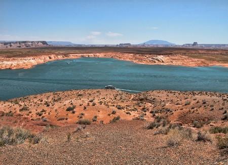 lake powell: View of Lake Powell in Arizona