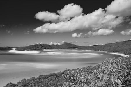 Whitehaven Beach in the Whitsundays Archipelago, Queensland, Australia Stock Photo - 7353646