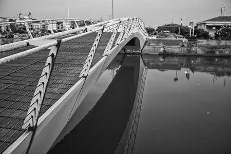 bridge over water: Bridge over Water in Lido di Camaiore, Italy