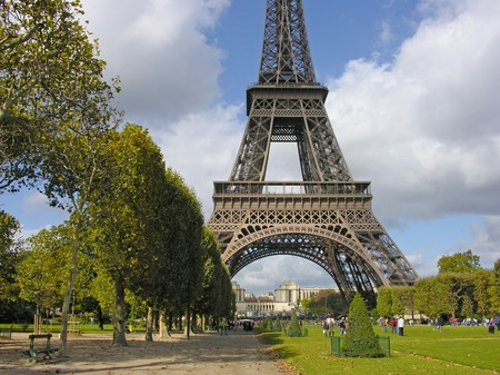View of Eiffel Tower in Paris, France Stock Photo - 7463614