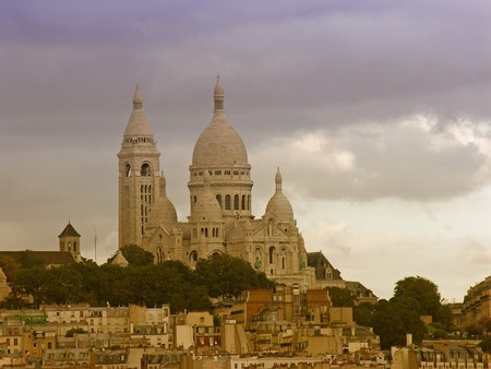 Vie of Montmartre in Paris, France Stock Photo - 7481553