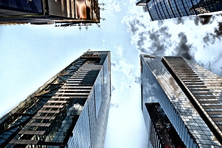 Skyscrapers of New York City, August 2008 photo