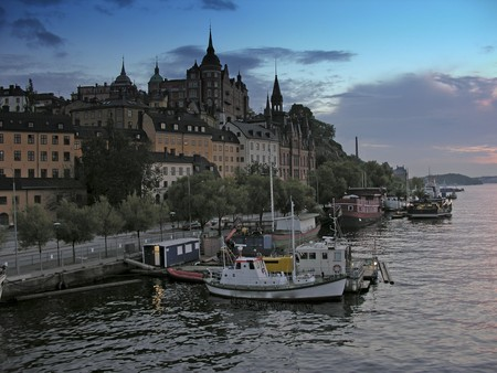 Detail of Stockholm and its Architecture, Sweden photo
