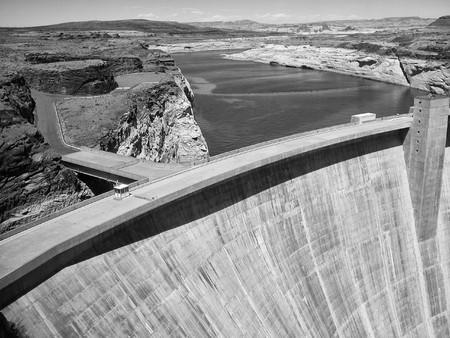 Glen Canyon Dam near Lake Powell, Arizona photo