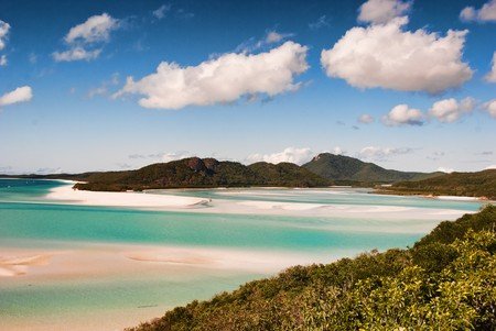 Whitehaven Beach in the Whitsundays Archipelago, Queensland, Australia Stock Photo - 7834047