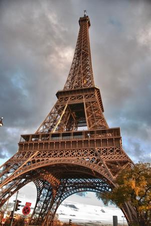Colors of Eiffel Tower, Paris photo