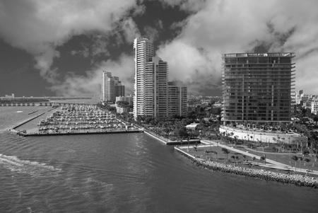 Miami Beach Coast in Florida, U.S.A. Stock Photo - 8437960