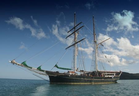 Old Cruise Ship in the Whitsunday Islands, Australia Stock Photo - 8437950