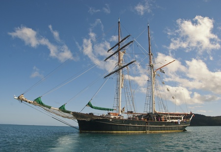 Cruise Ship in the Whitsundays Archipelago, Australia Stock Photo - 8439235